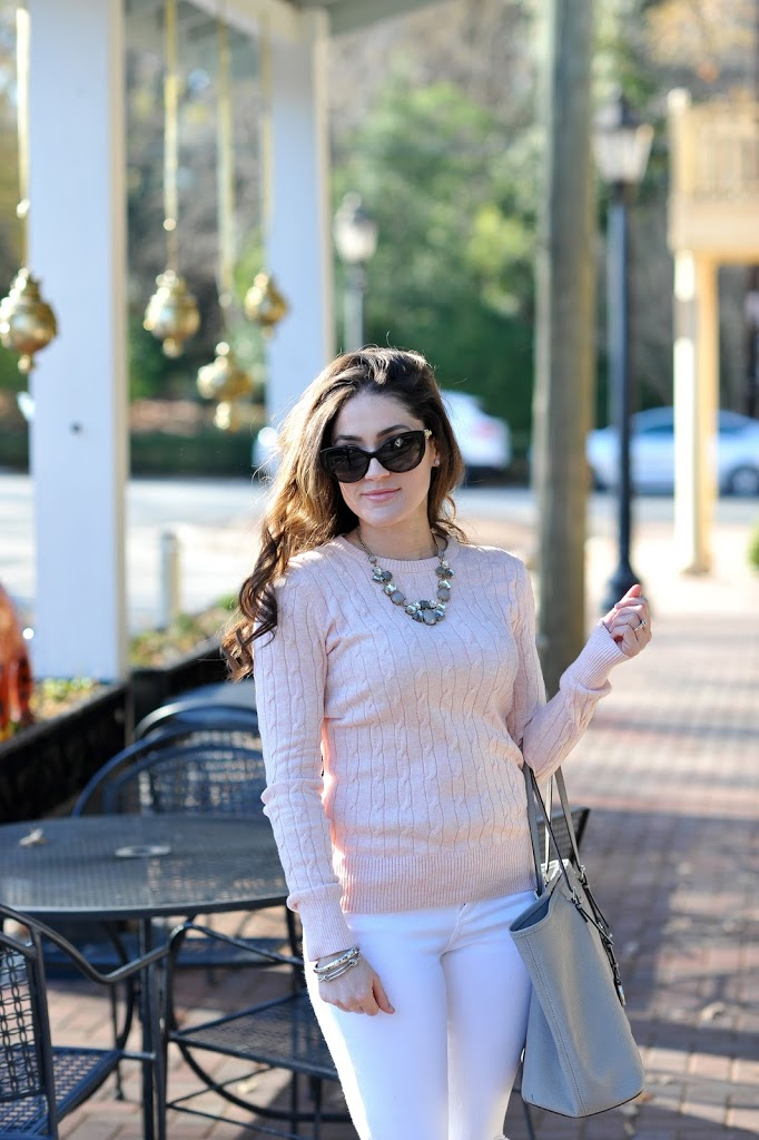 Winter Whites and Blush Pink - Erica Valentin