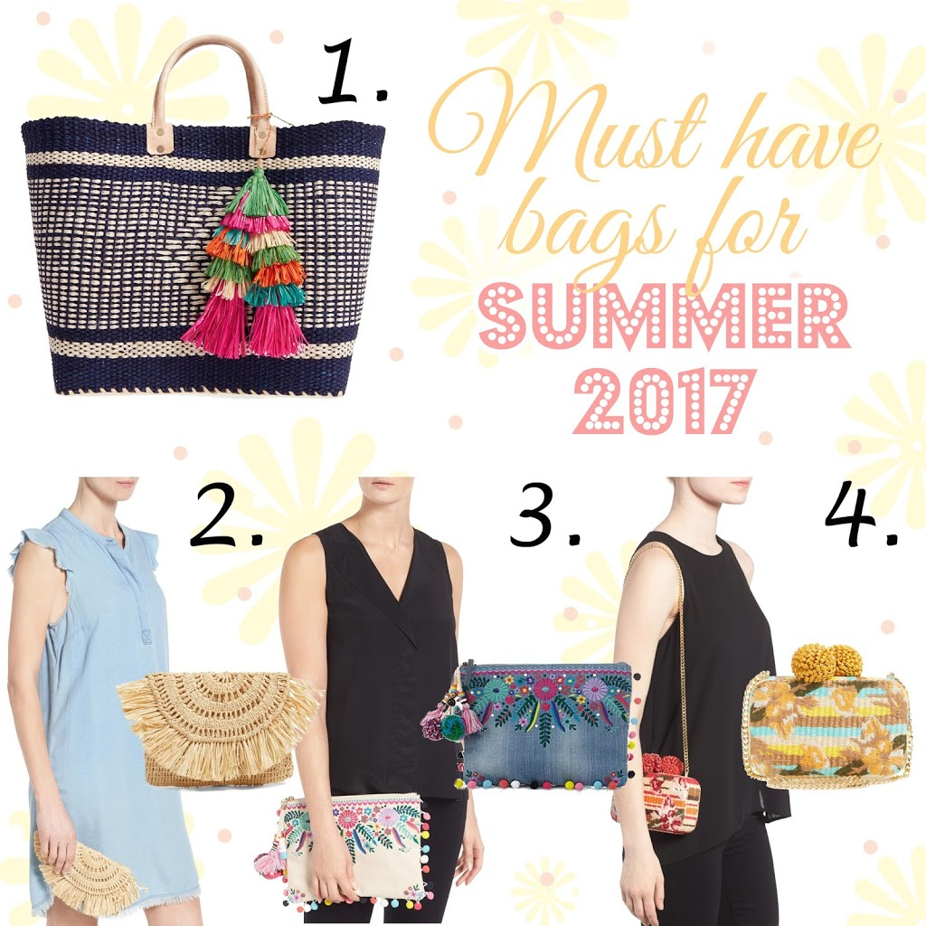 Summer Handbags - Must Have Bags of Summer 2017 - Erica Valentin - Atlanta Style Blogger