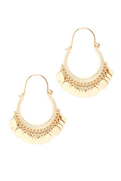 Sara Bella Disc Earrings from South Moon Under