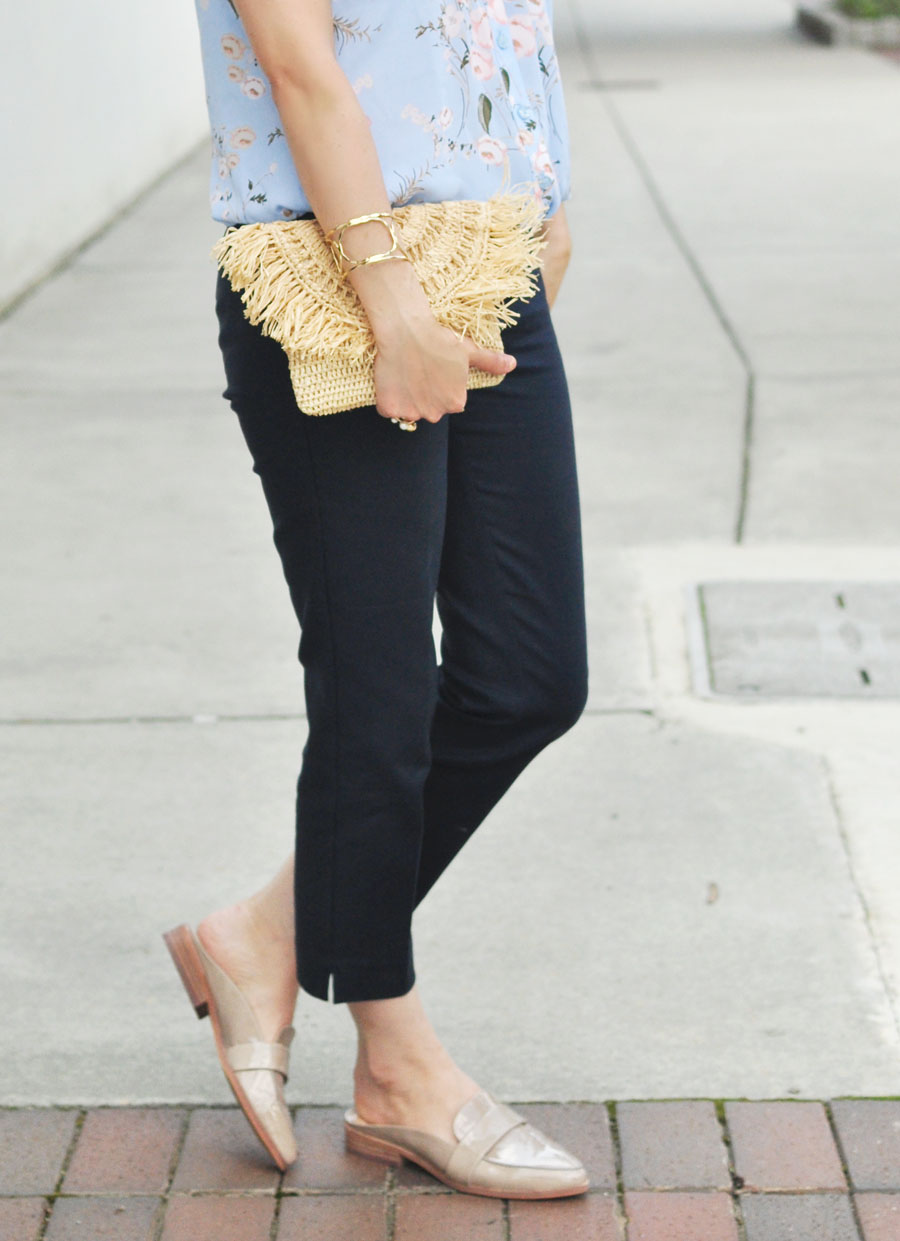 Office Style featuring Mar Y Sol, Loft, Vince Camuto, Rocksbox, & NY&Co. - By Style Blogger Erica Valentin