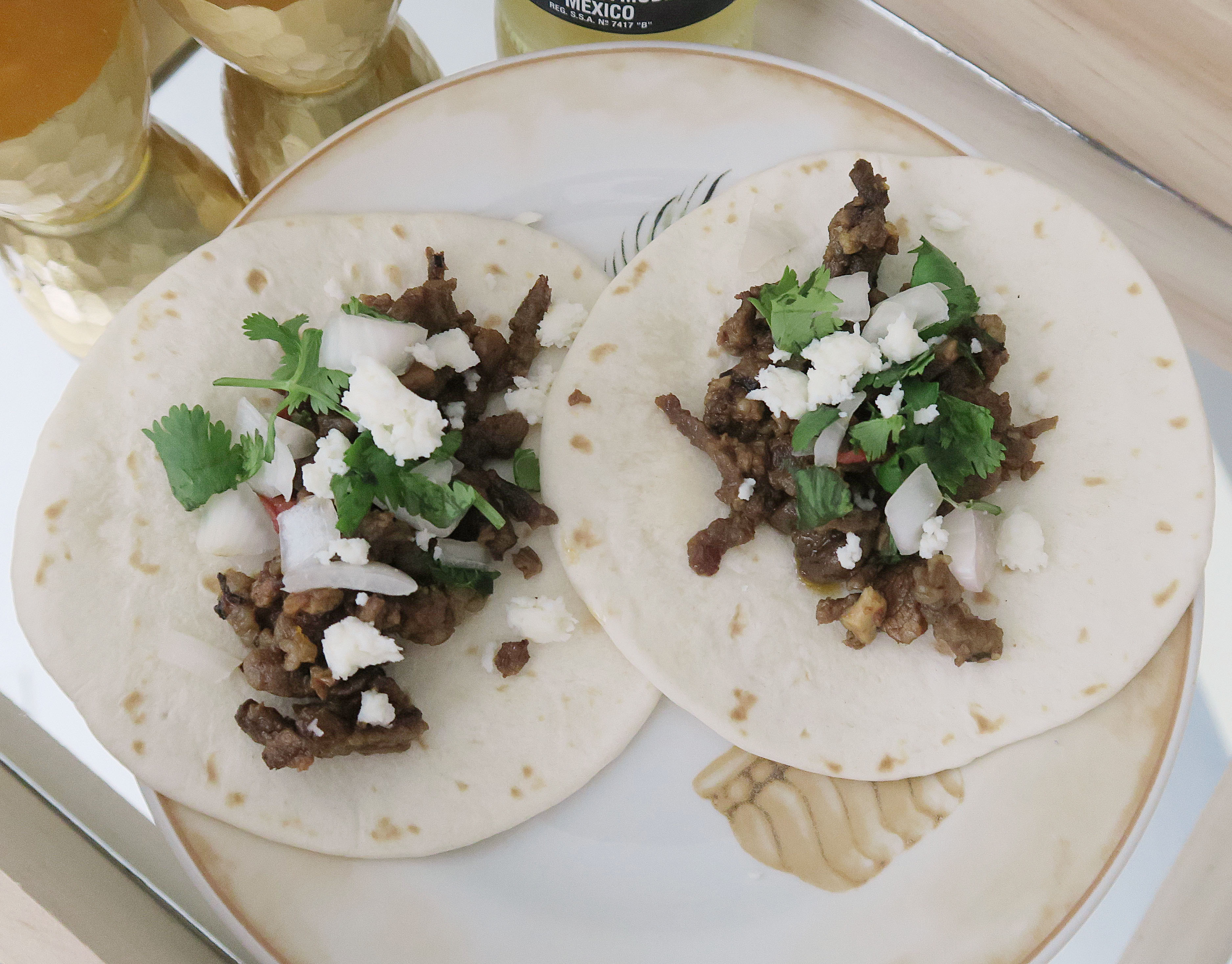 Mexican Street Tacos by Erica Valentin