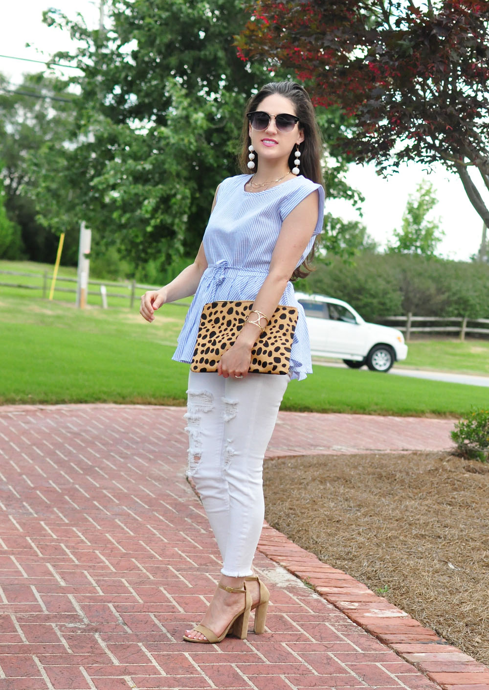 How to Mix Prints with Style Blogger Erica Valentin