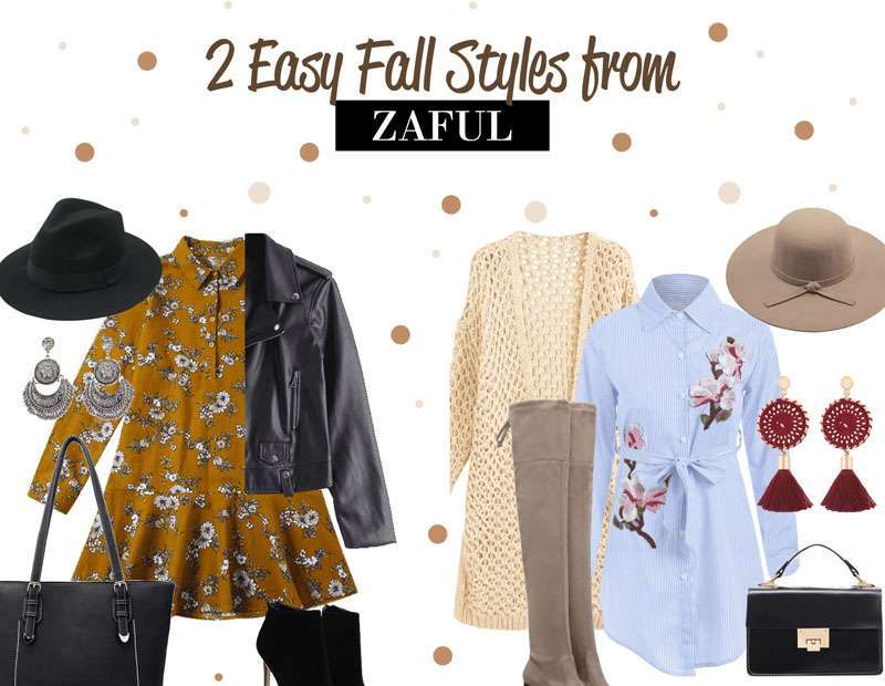 Zaful Fall Outfit Ideas
