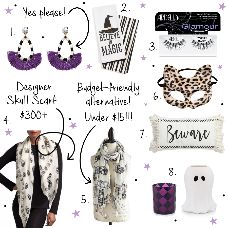 Halloween treats and picks from Style Blogger Erica Valentin